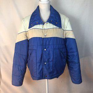 Vintage Campus Sport Puffer Coat